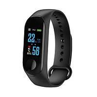 Фитнес трекер UWatch М3 Black спортивные часы, sport watch. Международная версия Xiaomi Band М3-Черный
