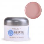 Гель Star Nail T3 Fiber Gel Opaque Petal Pink (1291) - камуфлирующий гель розовый, 28 г