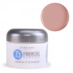 Гель Star Nail T3 Fiber Gel Opaque Rose Nude (1293) - камуфлирующий гель розово-бежевый, 28 г