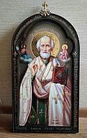Рукописные иконы. Икона Николай Чудотворец Мерликийский 53*30 см
