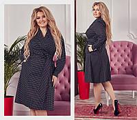 Платье большого размера / котон / Украина 17-1252, фото 1