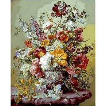 Картина по номерам Цветочная преданность, 40x50 см., Babylon