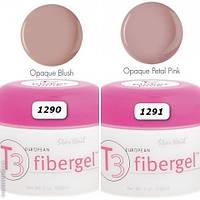 Гель Star Nail T3 Fiber Gel Opaque Petal Pink (1291) - камуфлирующий гель розовый, 56 г