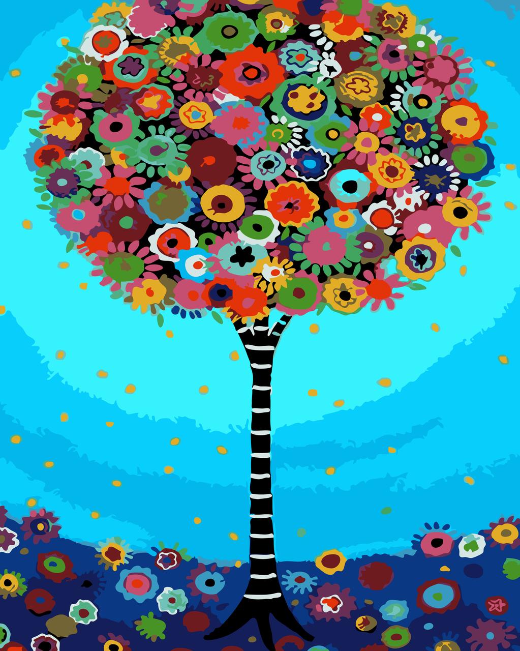 Картина по номерам Дерево мечты, 40x50 см., Art Story
