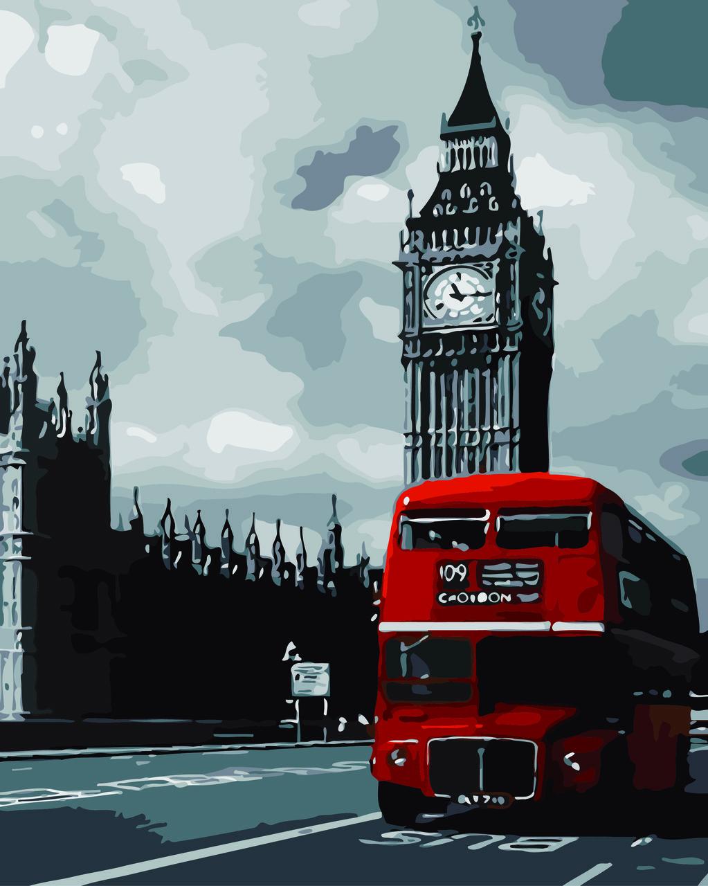 Картина по номерам Биг-Бен (Худ. Ричард Макнейл), 40x50 см., Домашнее искусство