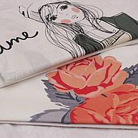 Полуторный комплект постельного белья с детской расцветкой 420d7eb579bca