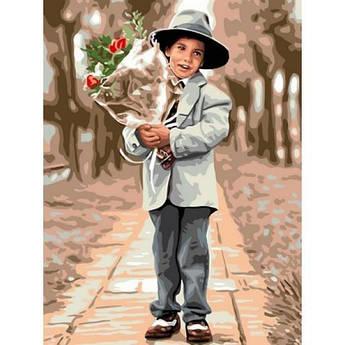 Картина по номерам Молодой джентльмен, 30x40 см Babylon