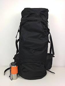 Черный мужской рюкзак для походов 85*35*25 см