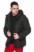 Стеганая куртка мужская черная