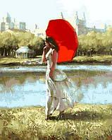 Картина по номерам Прогулка в летний день. Худ. Александр Гунин, 40x50 см., Mariposa