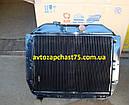 Радиатор Зил 130 (4-х рядный, медно-латунный паяный) производитель Шадринский автоагрегатный завод, Россия, фото 2