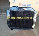 Радиатор Зил 130 (4-х рядный, медно-латунный паяный) производитель Шадринский автоагрегатный завод, Россия, фото 4