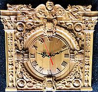 Часы настенные деревянные из дуба 380*380*40мм от производителя