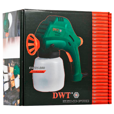 Пульверизатор.(фарбопульт) DWT ESP01-250, фото 2