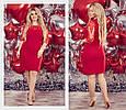Платье женское модное стильное с гипюром размер 50-54, купить оптом со склада 7км Одесса , фото 2