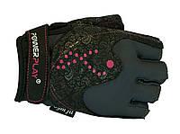Перчатки для фитнеса PowerPlay 1744 женские размер М, фото 1
