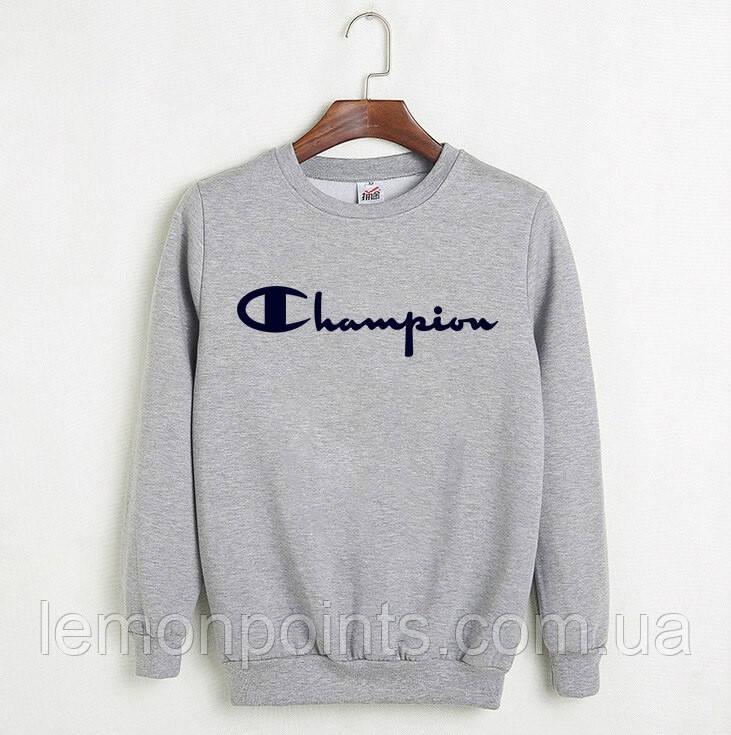 Свитшот, кофта, реглан Champion, світшот чоловічий чемпион