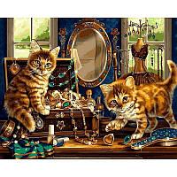 Картина по номерам  Шкатулка с драгоценностями, 40x50 см., Babylon