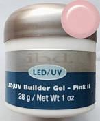 Конструирующий гель .ibd. LED/UV Builder Gel Pink II 28 г холодно-розовый