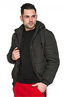 Короткая курточка мужская черная