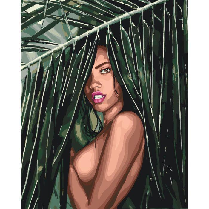 Картина по номерам Соблазнительная амазонка, 40x50 см Идейка