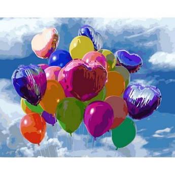 Картина по номерам Праздничное настроение, 40x50 см., Mariposa