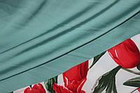 Ткань шелк армани Нюдовый хаки. Новый Цвет!, фото 1