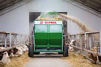 Измельчитель соломы тюков рулонов Sipma 1200 Kruk