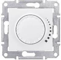 Светорегулятор емкостной поворотно-нажимной 25-325 Вт/ВА Белый Schneider Sedna (sdn2200721), фото 1