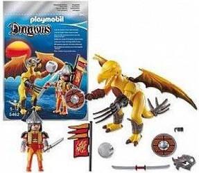 Playmobil 5462 Rock Dragon Кам'яний дракон з воїном (Конструктор Плеймобил Каменный дракон с воином)
