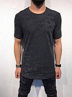 Мужская футболка черная , белая , серая 4 цвета ЛЮКС КАЧЕСТВО модная футболка весна лето осень