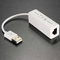 Сетевая карта Ethernet Lan USB 2.0 100m KY-Realtek нов