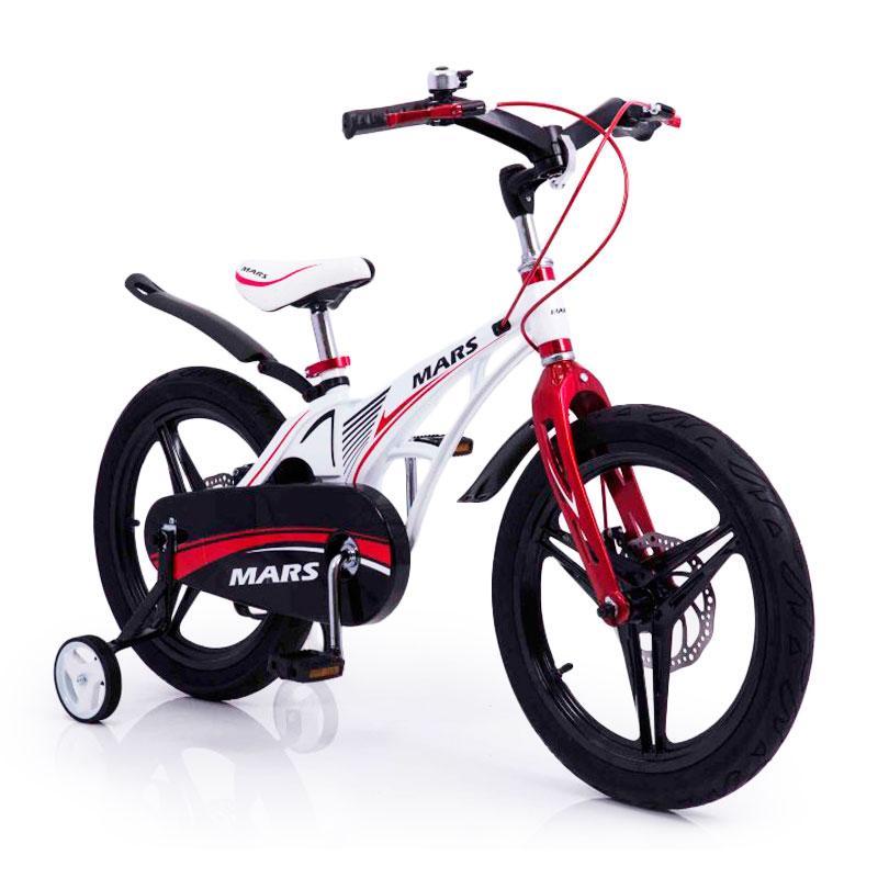 """Детский  Велосипед """"MARS-18"""" дюймов White Складной Руль"""