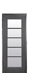 """Дверное полотно """"Муза"""" со стеклом сатин"""