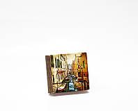 Шкатулка-книга на магните  slim  с 1 отделением Венецианская улочка