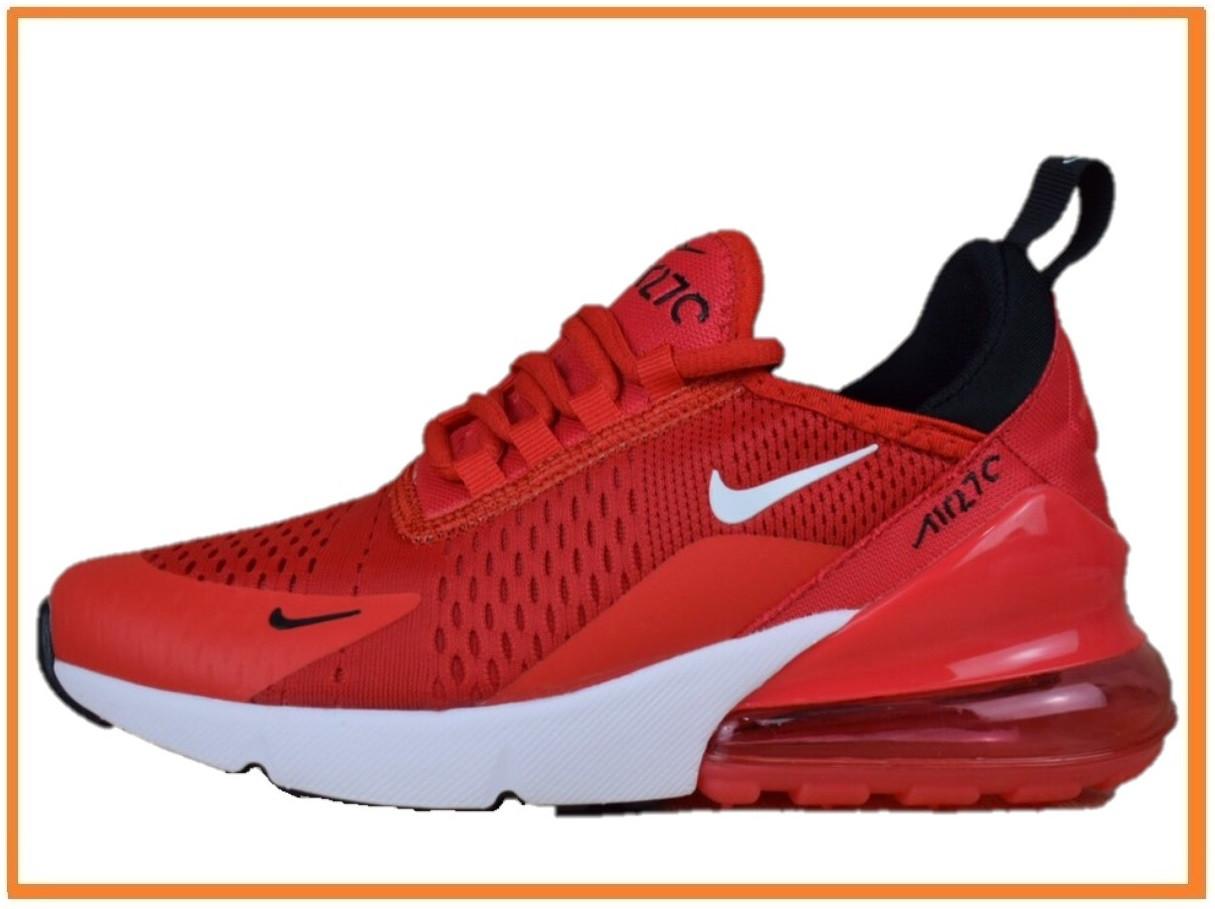 3f6550df Женские кроссовки Nike Air Max 270 red white (найк аир макс 270, красные /