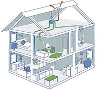 Вентиляция. Бытовые системы и промышленные системы вентиляции.