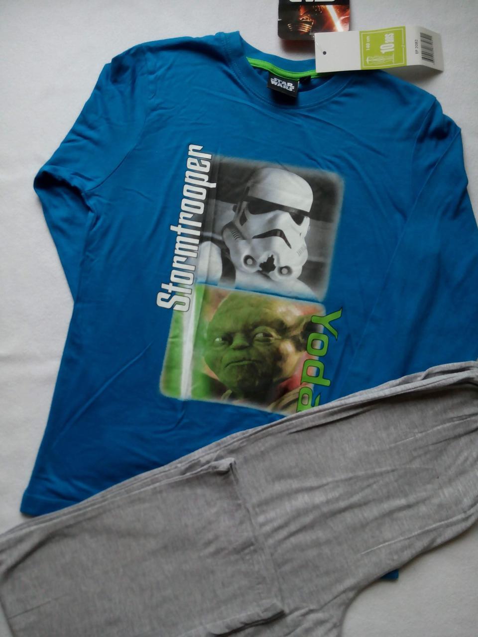 Пижама для мальчика трикотажная TM SunCity (StarWars) 10лет