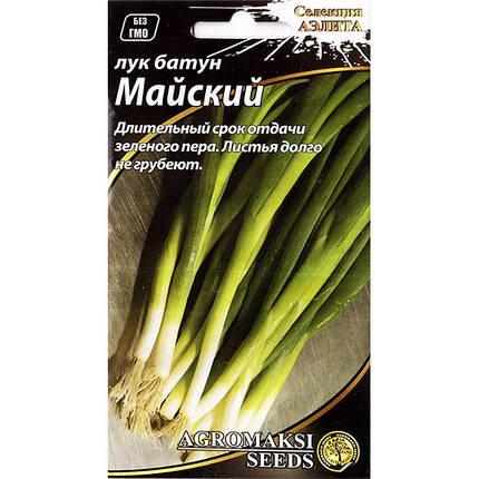 """Семена лука на зелень """"Майский"""" (0,5 г) от Agromaksi seeds, фото 2"""