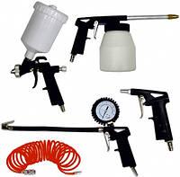 Набор пневмоинструментов Werk Kit-5PG