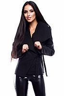Жіноче кашемірове чорне пальто Parker