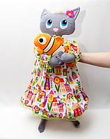 Интерьерная Кошка  (цвет в ассортименте), фото 1