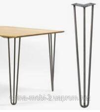 Ножки для стола металлические 3Rod. Высота h710мм, фото 2