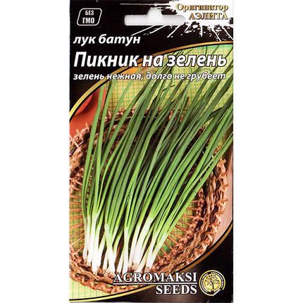 "Семена лука на зелень ""Пикник на зелень"" (0,5 г) от Agromaksi seeds, фото 2"