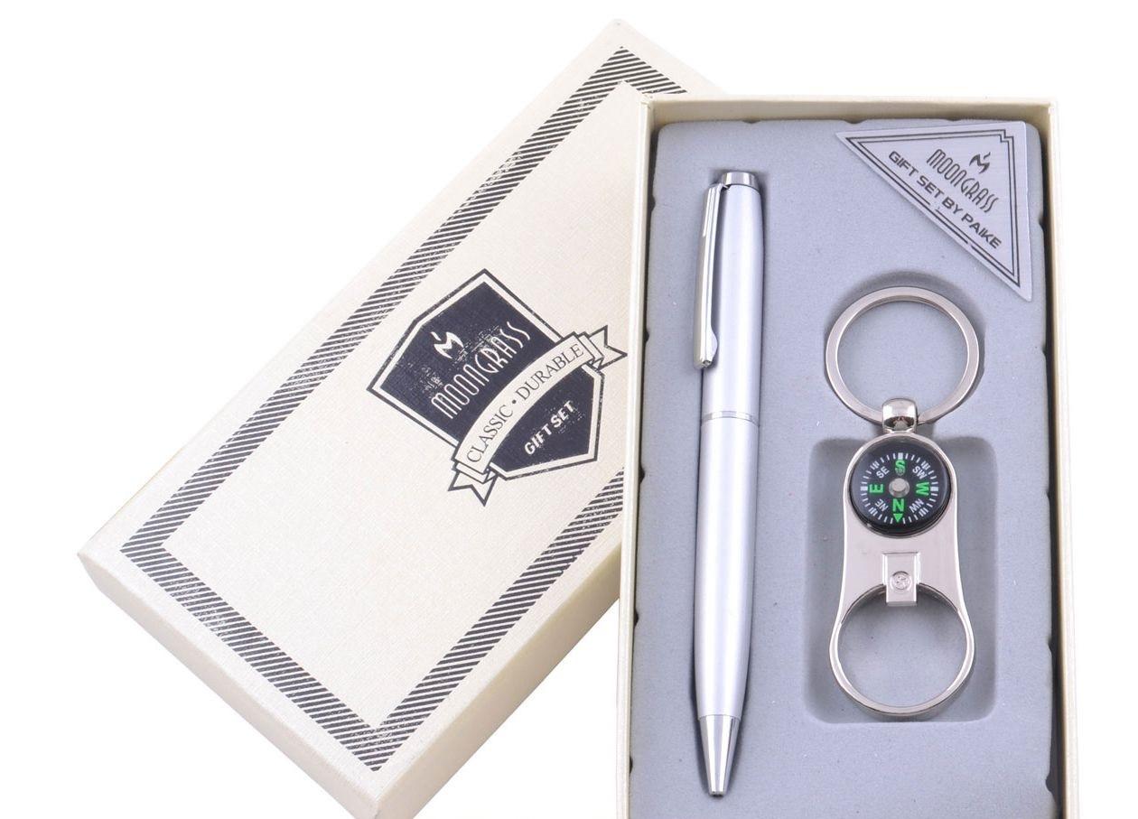 Подарочный набор Брелок (Открывалка, компас), Ручка