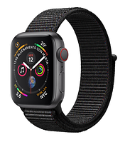 Apple Watch Series 4 GPS + LTE 40mm Space Gray Aluminium with Black Sport Loop (MTVF2)