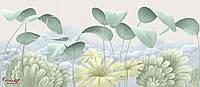 """Бесшовные 3D фотообои """"Листья"""""""