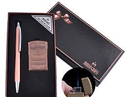 Подарочный набор ручка, зажигалка (Острое пламя)