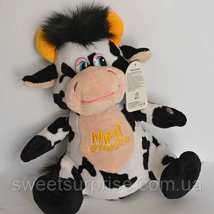 Мягкая музыкальная игрушка корова, фото 2