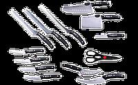 Набор кухонных ножей Miracle Blade World Class / чудо-ножи / кухонные ножи